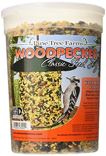 Cheap Pine Tree Farms 8002 Woodpecker Classic Seed Log, 76-Ounce