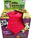 Nose-It K-9 Pet Ball Flex Plus Red A Toy with Purpose