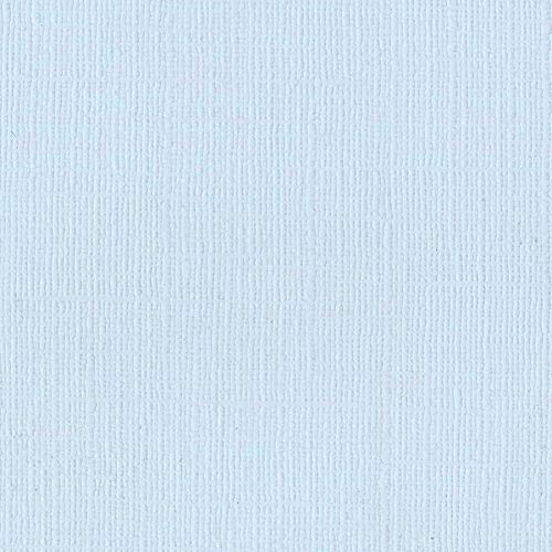 Bazzill Powder Blue 12x12 Textured Cardstock | 80 lb Baby Blue Scrapbook Paper | Premium Card Making and Paper Crafting Supplies | 25 Sheets per Pack Bazzill 12x12 Cardstock Light
