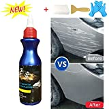 Moonase One Glide Scratch Remover, Car Artifact Light Scratch Repair Wax Universal Auto Car Paint Dent Care Pen Polishing Repair Agents for Various Cars ( Scratch Remover+Folding Knife+Scraper)