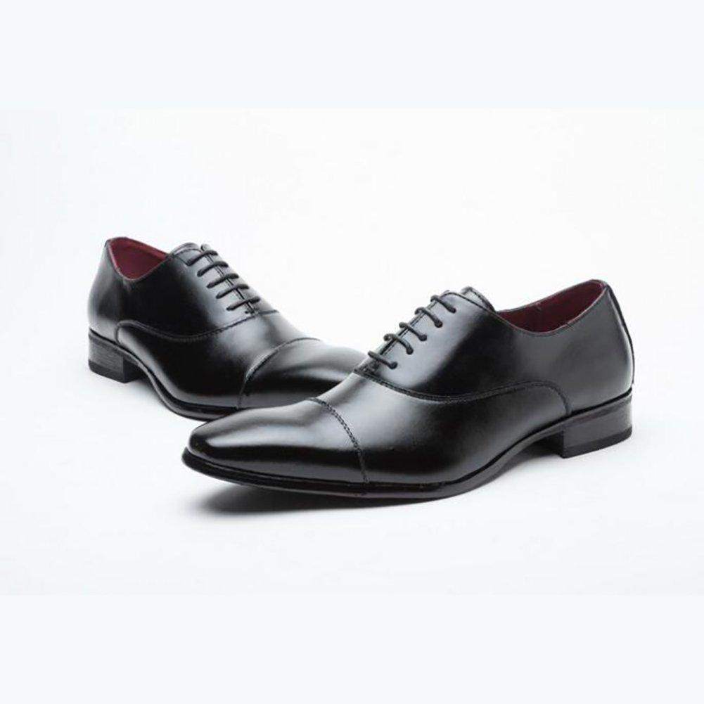 Qzny Leder Schuhe Herren Schuhe Geschäft Schuhe Herren Kleid Schuhe Leder Herren Schuhe Freizeitschuhe Formale Geschäft Arbeitsschuhe,A,43