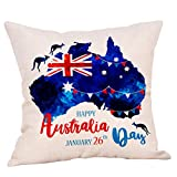 AOJIAN Home Decor Cushion Cover Decorative Throw Pillow Covers Independence Day Protectors Bolster Case Pillowslip