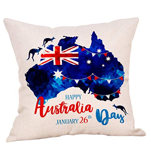 AOJIAN Home Decor Cushion Cover Decorative Throw Pillow Covers Independence Day Protectors Bolster Case Pillowslip by AOJIAN Home Decor (Image #1)