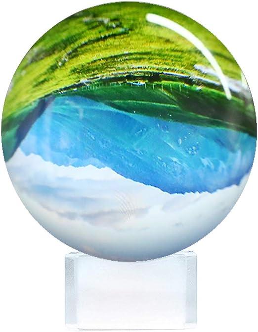 Bola de Cristal para fotografía Esfera con Soporte Base y Caja ...