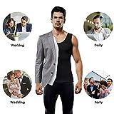 Men's Compression Shirt Slimming Body Shaper Vest