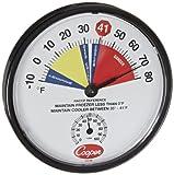 Cooper-Atkins 212-158-8 Bi-Metals HACCP Cooler/Freezer Thermometer, 10 to 80 degrees F Temperature Range