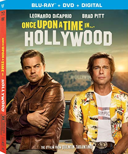 Once upon Time Hollywood Blu ray product image