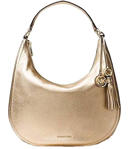 Michael Kors Gold Handbag - 4