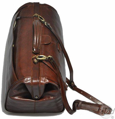 Gianni continental sac de voyage en cuir «bariello»