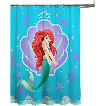 Disney Frozen Elsa And Anna Fabric Shower Curtain Hot Sale 2017