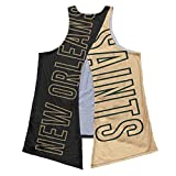 New Orleans Saints NFL Women Tie-Breaker Sleeveless Top - L