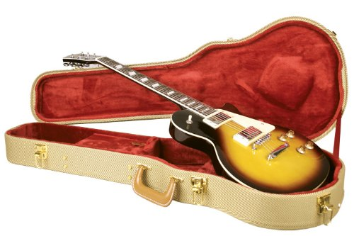 Guardian Cg 035 Lp Archtop Tweed Case Lp Style Electric