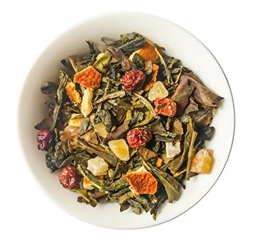 Mahalo Tea Peach Serenity White & Green Tea - Loose Leaf Tea - 2oz by Mahalo Tea