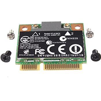 HP Pavilion Realtek RTL8188CE 640926-001 Genuine Wireless Mini PCI WiFi Card