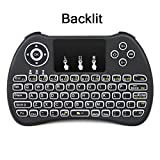 SUPVIN H9 Back-light 2.4GHz Wireless Mini Keyboard with Touch pad Mouse Combo Rechargeable Li ion Battery For PC, Pad, Xbox 360, G-Box, PS3, Google An