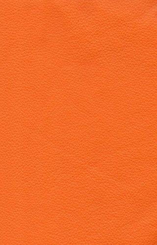 "Luvfabrics Marine Vinyl Orange Champion Outdoor/indoor Pebble Grains Fabric 54"" Width Sold By the Yard"