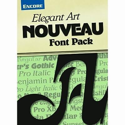 Elegant Art Nouveau Fonts