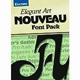 Font Collection: Elegant Art Nouveau PC [Download]