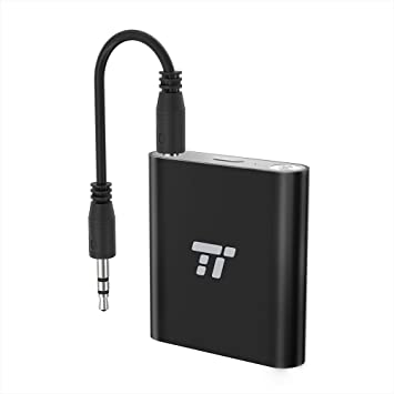 TaoTronics – Transmisor Bluetooth 65 ft largo alcance de 3,5 mm y RCA Adaptador