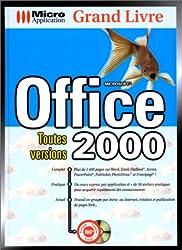 Grand livre Office 2000