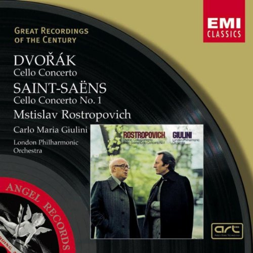 Rostropovich Cello (Dvorak & Saint-Saens:Cello Concertos)