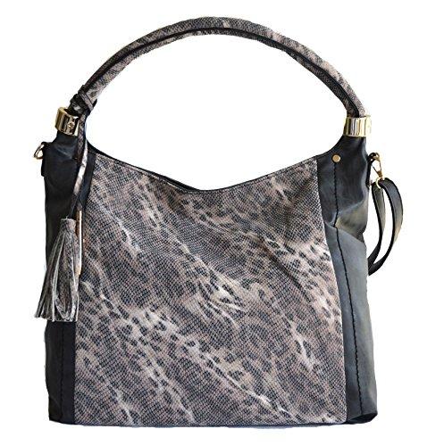 women fashion hobo leopard cheetah animal handbag purse - Hobo Print Animal