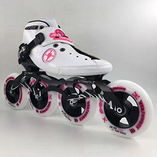 JieKeHaiDao Professional Carbon Inline Speed Skate for Men and Woman and kids