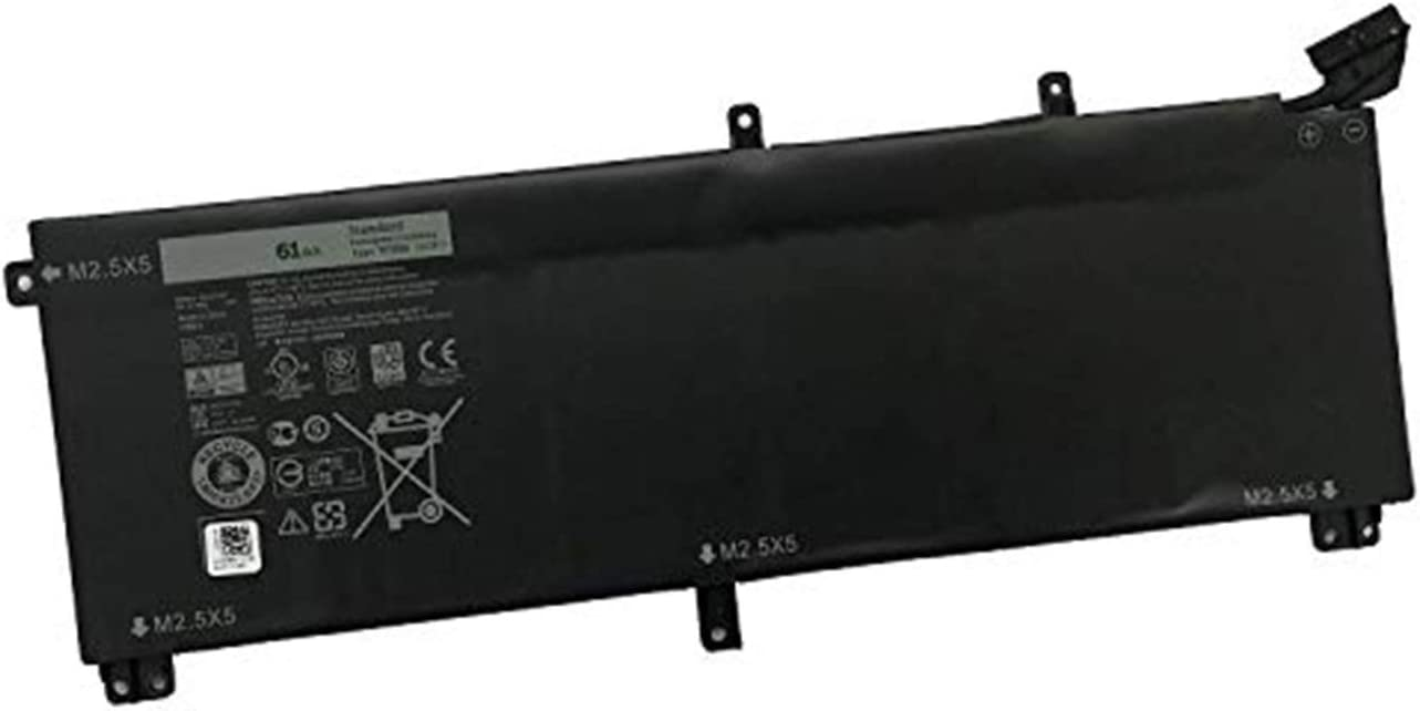 BOWEIRUI T0TRM (11.1V 61Wh 5180mAh) Laptop Battery Replacement for DELL XPS 15 9530 Precision M3800 Series Notebook T0TRM TOTRM 245RR 0H76MY H76MV 07D1WJ 7D1WJ Y758W 701WJ