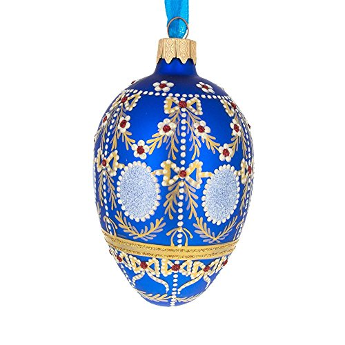 bestpysanky 4 1908 alexander palace faberge egg glass christmas ornament