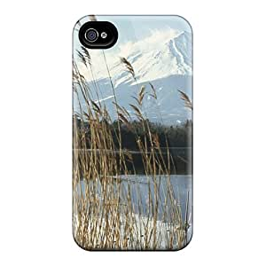 Snap On Hard Cases Covers Lake Kawaguchi In Front Of Mount Fuji Japan Protector For Iphone 6