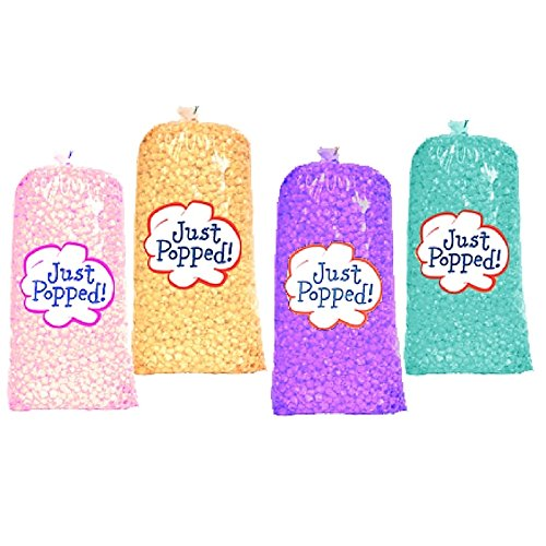 Easter & Spring Colored Popcorn 4-Pack (72 Cups per (Purple Popcorn)