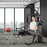 Goplus Multifunction Home Gym System Weight