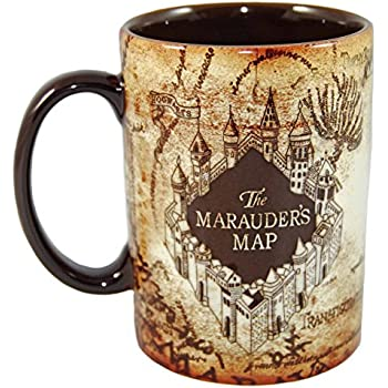 Wizarding World of Harry Potter Marauder's Map Ceramic Mug