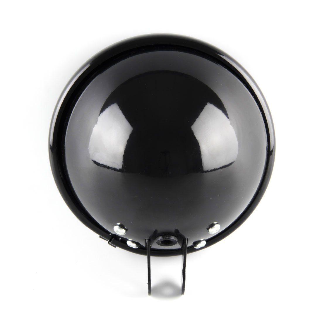SKUNTUGUANG color negro Soporte de repuesto para faros delanteros de Harley Davidson 5,75 pulgadas