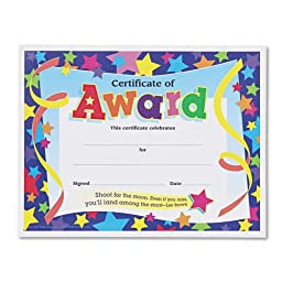 TEPT2951 - Trend Certificates of Award