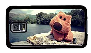 Hipster Samsung Galaxy S5 Case most protective cover cuddly toy PC Black for Samsung S5