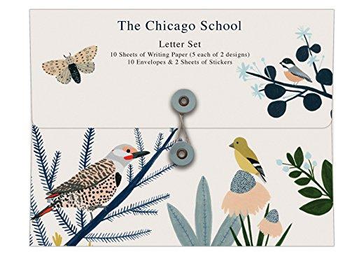 Roger La Borde Letter Writing Set, Chicago - Writing Set Letter
