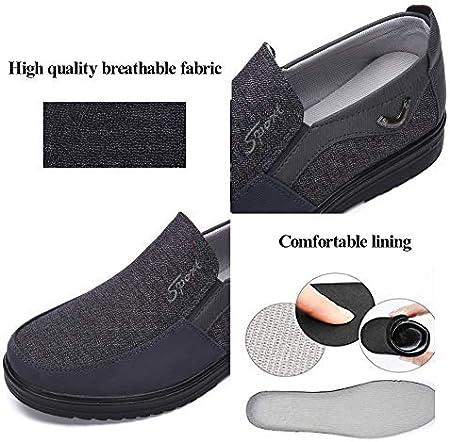 Zapatos Hombre Cuero Mocasines Casual Zapatillas Casa para Centavo Ponerse Conducción Formal Negocios Barco Cómodos Caminar