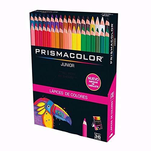 Prismacolor Colored Pencil Set, Assorted, 36-Count, Spanish Language (Colored Pencil Prismacolor)