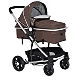 Costzon Infant Stroller 2 in 1 Foldable Baby Buggy Pushchair (Coffee) Review