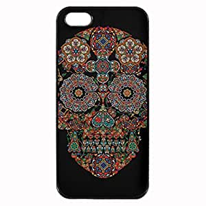 Day of the Dead Flower Sugar Skull Printed Plastic Rubber Sillicone Customized iphone 6 4.7 Case, iphone 6 4.7 Case Cover, Protection Quique Cover, Perfect fit, Show your own personalized phone Case for iphone 6 4.7 & iphone 6 4.7