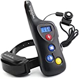 PETINCCN P690 Dog Shock Collar 2000 ft Remote Dog Training Collar 100% Waterproof and Rechargeable Pet trainer collar with 16 Levels Beep Vibrating Sport Electric 1 Collar for Dogs (8-100lbs)