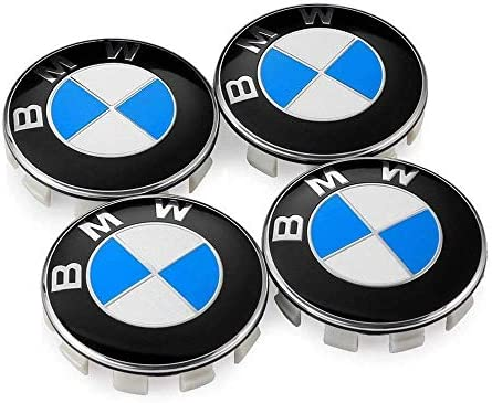 BMW BADGE FOR WHEELS 68MM SIZE 1 2 3 4 5 6 7 SERIES M SPORT VEHICLES