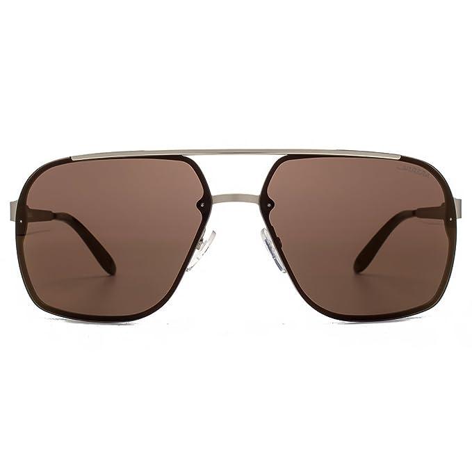 Amazon.com: Carrera 91 Aviator anteojos de sol en luz oro ...