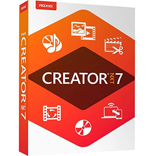 Roxio Creator NXT 7 - CD/DVD Burning & Creativity Suite [PC Disc] (Burning Dvd Software)