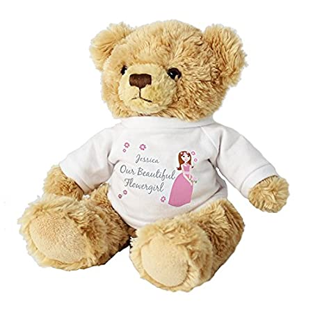 Flower girl teddy gifts and cards easter gift idea teddies flower girl teddy gifts and cards easter gift idea teddies personalised negle Images