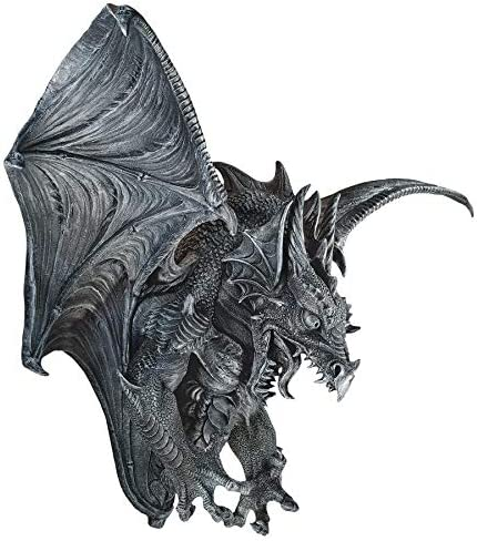 Design Toscano Vengeance, the Dragon Wall Sculpture