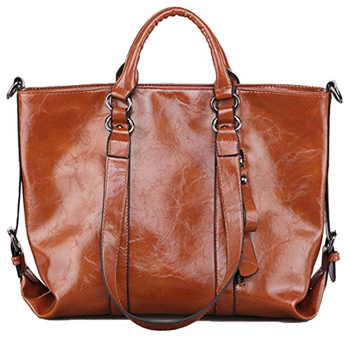 Bags marron Large YYW marron Cabas femme Tote pour AvYqqUEd
