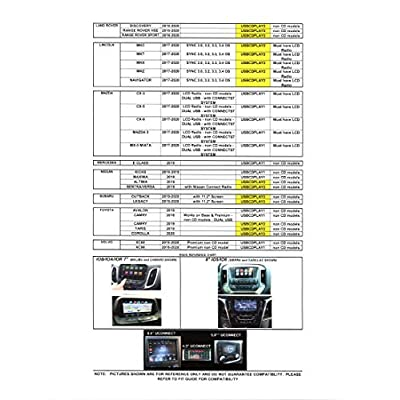 AIE - OE Integrated Vehicle CD Player via USB Radio Connection (USBCDPLAY1) - (See Vehicle Fit Guide in Images)