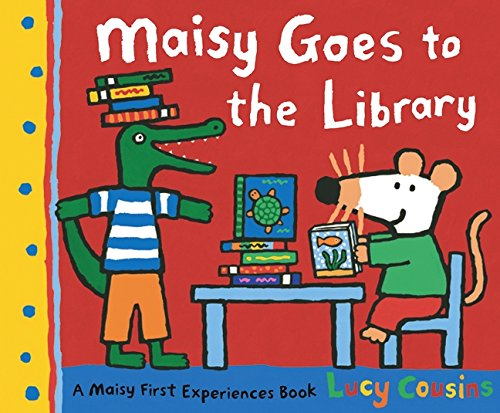 Maisy Goes to the Library: 1: Amazon.co.uk: Cousins, Lucy, Cousins, Lucy:  9781406306965: Books